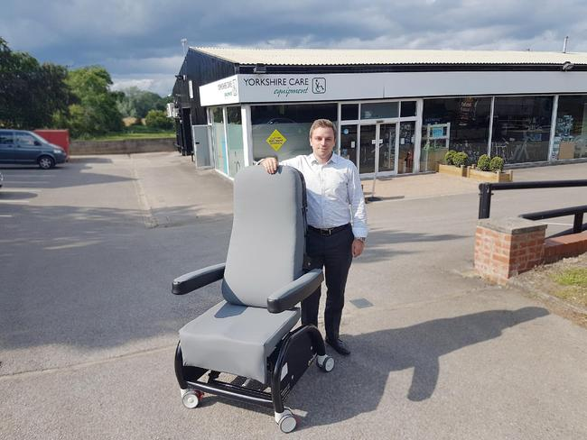 Specialist seating company works with NHS to create the ultimate hospital chair