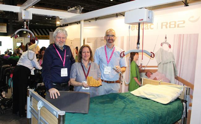 International specialists from Etac to educate with latest patient mobilisation solutions at OT Show