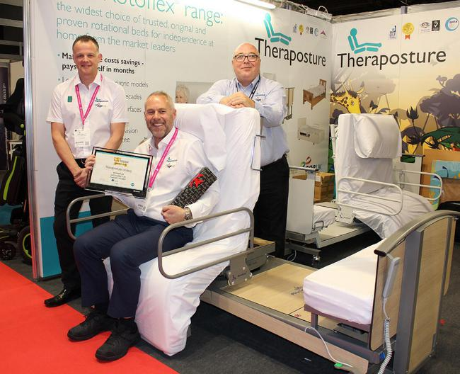 Theraposture Rotoflex 235 Plus Bed wins inaugural OT Show Award for Excellence in Caring